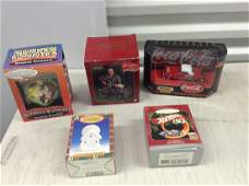 Hallmark Christmas ornaments and other collectibles in