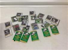 Large lot of sealed Pro Set golf cards Jack Nicklaus