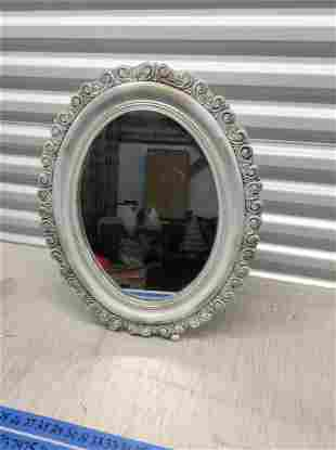 "Vintage stand up mirror 22"" tall"