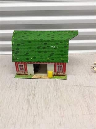 Marx Happi Time Tin Farm house