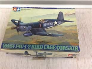 Tamiya Corsair model plane