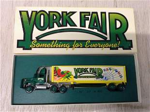 York Fair Diecast Tractor Trailer Truck