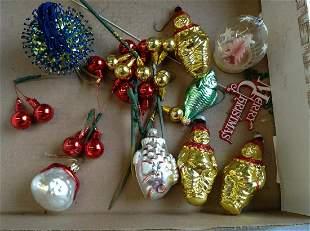 Vintage German Christmas Ornaments