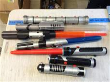 Lot of Light Sabers