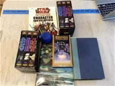 Lot of Original VHS Star Wars Tapes and more