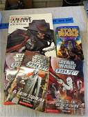 Lot of Star Wars Books and GunGrave