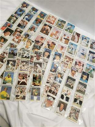 Lot of vintage baseball cards and more