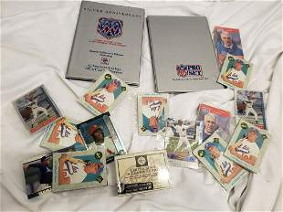 Lot of new unopened sport cards
