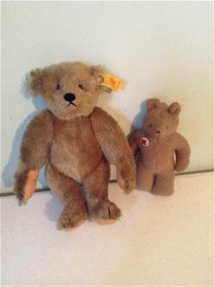 Vintage Steiff and other bear