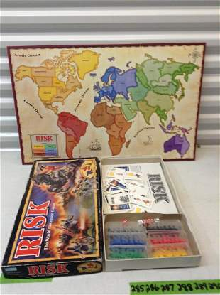 Risk Board Game - appears to have all pieces