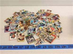 Large lot of vintage baseball cards