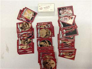 Vintage baseball card set