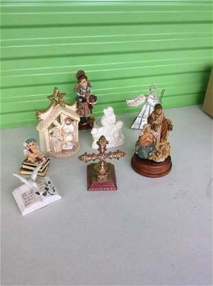 Made in Italy musical nativity scene and other