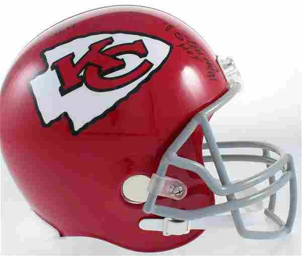Kansas City Chiefs FS Helmet Signed by Curley Culp, Jan