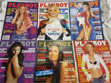 Lot of Playboy magazines