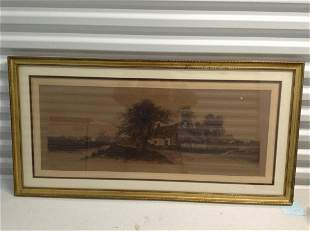Original Etching signed by the artist Ernest Frost