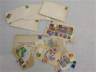 Lot of Vintage Stamps