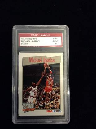 Graded Michael Jordan Card