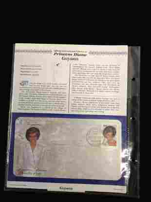 Princess Diana First Day Cover