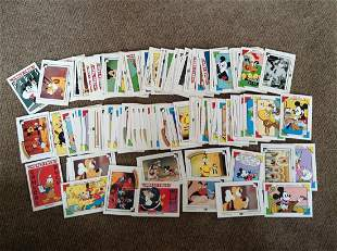 Large amount of vintage Disney Trading Cards