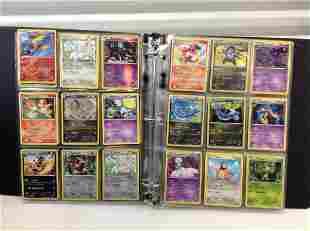 Binder full of Pokemon Cards