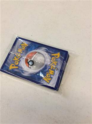 pack of sealed pokemon cards