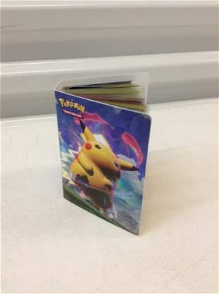 Card Size Binder of Pokemon Cards