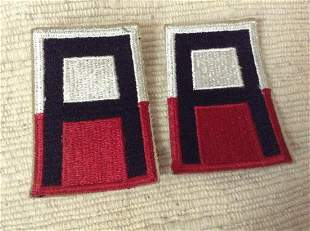 Two WWII Patches
