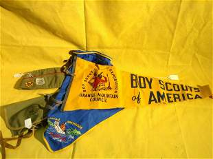 Newark Museum Boy Scouts Hats and Banner