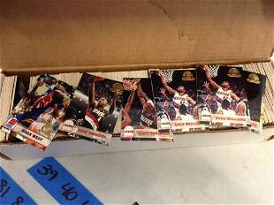 Large Amount of Basketball Cards