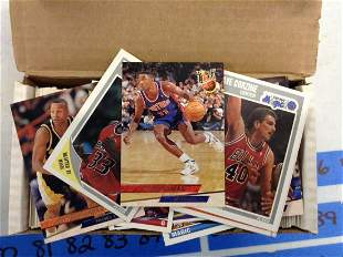 Lot of 1990 Basketball Cards
