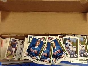 Large Amount of Upper Deck Baseball Cards