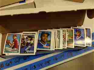 Large Amount of 1991 Topps Baseball Cards