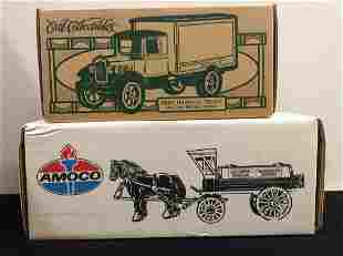 AMOCO Horse and Tank Wagon Bank and Hawkeye Truck