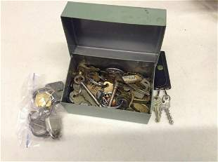 Large Amount of Keys and Locks
