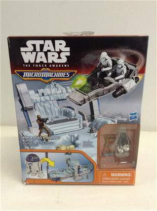 star wars the force awakens micro machines new in the