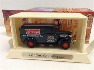 """Matchbox Models of YesterYear 1937 GMC Van"""" Steinlager"""""""