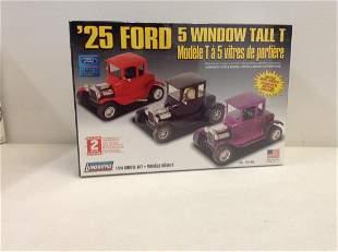 Lindberg 1/24 '25 Ford 5 window Tall T sealed