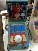 Untested 1980 Coin Op. The Gypsy Arcade Game