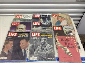 Lot of 1960s and 70s Life magazines and piano music