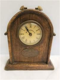 Bedford clockworks - wooden clock