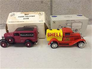 1932 Panel Delivery and Ford Model A Tanker Car Models