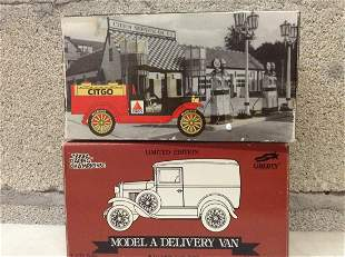 Ford Model A Delivery Van and Citgo Model Cars