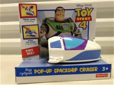 Toy Story 4 Pop-Up Spaceship Cruiser in Package