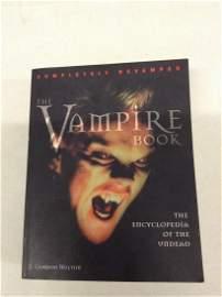The Vampire Book by Gordon Melton