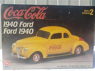 1940 Ford Coca-Cocla AMT model kit