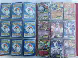 Binder with Pokemon cards