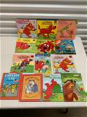 Large lot of Clifford and other vintage childrens Books