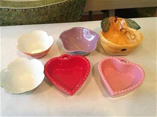 Knobler, Williams-Sonoma, and Other Ceramic Bowls
