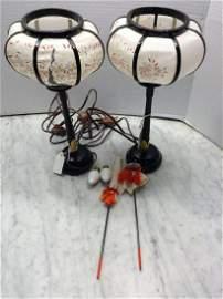 Newark Museum Display Lamps